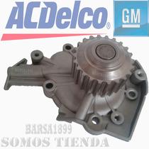 Bomba De Agua Chevrolet Spark (acdelco) Original