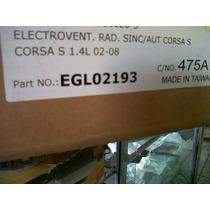 Electroventilador De Chevrolet Corsa Del Año 02/08 Sin/aut