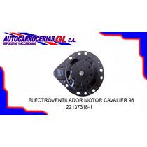 Motor Electroventilador De Cavalier/century