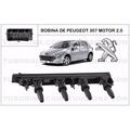 Bobina De Peugeot 307 Y 407 Citroen C3-c4 Motor 2.0 6 Pines