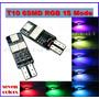 Muelita T10 Rgb De Led 5050 Led Flash Laser 5w Alto Brillo