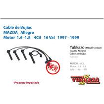 Cable Bujias Mazda Allegro 1997-1999 4cil 1.6/1.8 16 Val
