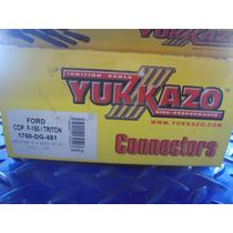Chupon Conector De Bobina Ford F150/triton 5.4 8 Cil Yukkazo