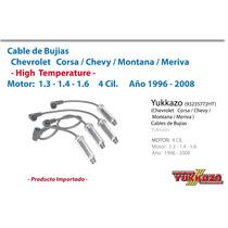 Cables Bujias Corsa/chevy/montana/meriva Alto Rendimiento