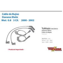 Cable Bujias Daewoo Matiz Mot0.8 3cil 2000-2002 Iny