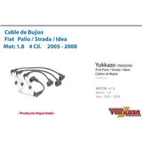 Cable Bujias Fiat Palio / Strada / Idea Mot1.8 2005-2008