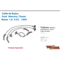 Cable Bujias Ford Mercury Tracer 1.8 8val 1994