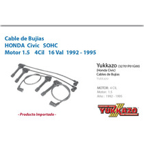 Cable Bujias Honda Civic 4cil Mot1.5 1992-1995