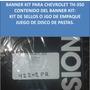 Banner Kit Caja Chevrolet Th-350 / Th-250 Anillos De Teflon