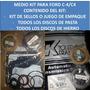 Medio Master Kit Caja Ford C5 Anillos Teflon