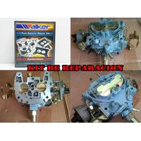 Kit Carburador Chevrolet Motor 231 262 Media Luna