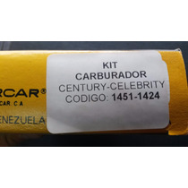 Kit Carburador Chevrolet Century/celebrity Rochester 2 Bocas