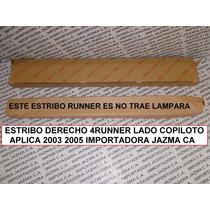 Estribo Derecho 4runner 2003 2005 Original Toyota