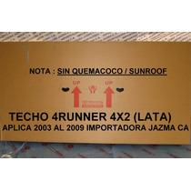 Techo 4runner 4x2 2006 2009 (lata) Original Toyota