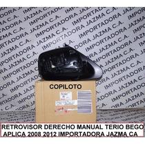 Retrovisor Derecho Manual Terio Bego 2008 2012 Orig Toyota