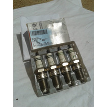 Bujias (04) Originales Vw Gol Parati Saveiro Motor 1.8