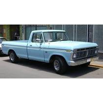 Goma De Parabrisa Ford 73 79 Pickup 350 -75delantera