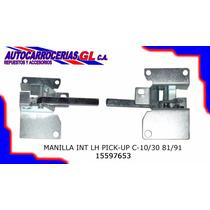 Manilla Interna Izquierda Pick-up C10 C30 81 91