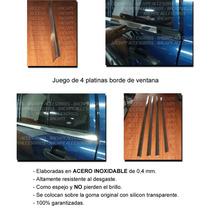 Kit Cromado Biseles O Farqilla De Ventana Dodge Caliber
