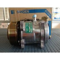 Compresor Universal Sanden 505 507 508 510 Polea V Y Multic