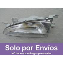 Faro Izquierdo Para Hyundai Accent 2 Puertas Nuevo - Piloto-