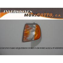 Cocuyo Faro Cruce Izq-derec Ford F-150 Fortaleza 97-03 Depo