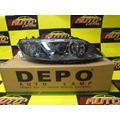 Faro Mazda 6 2006 2007 2008 2009 Fondo Negro Marca Depo !!!