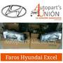 Faros De Hyundai Excel