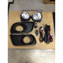 Kit Luces Faro Carelo Anti-neblina Mazda Bt-50 2010-13