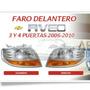 Faro Delantero Izquierdo O Derecho Aveo Chevrolet 2006/2010