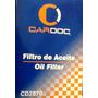 Cardoc Filtro Aceite Cd2870 Volkswagen Gol, Golf, Jetta, Fox