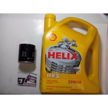 Filtro + Aceite Shell Mineral 20w50 Corolla Yaris Terios