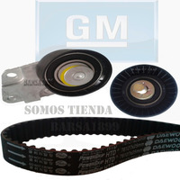 Kit De Correa De Tiempo Chevrolet Aveo 100% Original Gm