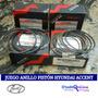Juego Anillo Piston Hyundai Accent 1.5