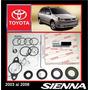 Sienna 2003 -2005 Kit Cajetin Direccion Original Toyota