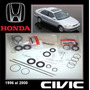 Civic 1996 2000 Kit Cajetin Direccion Hidraul Original Honda