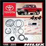 Hilux 1996 - 2005 4x4 Kit Cajetín Direccíon Original Toyota