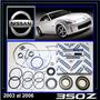 350z 2003 - 2006 Kit Cajetin Direccion Hid Original Nissan