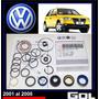 Gol 2001-2008 Kit Cajetin Dirección Hidr Original Volkswagen