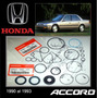 Accord 1990 -93 Kit Cajetin Direccion Hidraul Original Honda