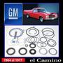 Elcamino 1964 -1977 Kit Cajetin/sector Dirección Original Gm