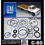 C60 1983 - 90 Doble Piston Kit Cajetin Dirección Original Gm