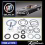 Buick Riviera 1966 - 1978 Kit Cajetin Dirección Original Gm
