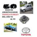 Base Amortiguador Toyota Starlet Delanteras Del 93 Al 99