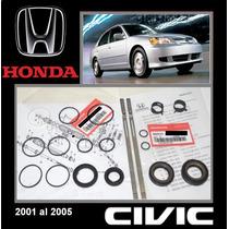 Civic 2001 2005 Kit Cajetin Direccion Hidraul Original Honda