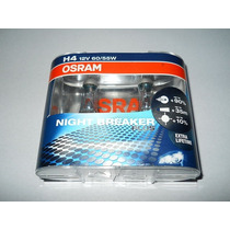 Bombillos Luces Osram Night Breaker 90% Mejora H4 Plus H1 H3