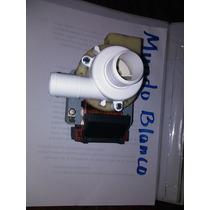 Bomba De Agua Electrica Lavadora Mundo Blanco 60hz