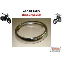 Aro De Faro Para Moto Um Renegade 200 Original