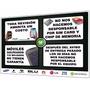 Aviso 4 Normas Servicio Técnico Celular Táctil En Plástico