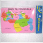 Foami Educativo Del Mapa De Venezuela Rompecabezas Colegio